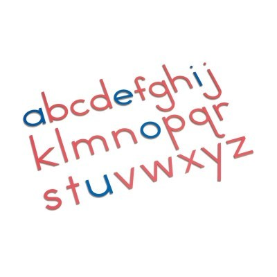 Wooden Movable Alphabet: International Print