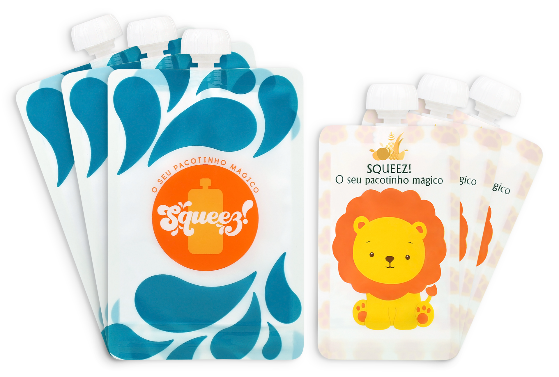 Pack 6 - 200ml + 100ml (Personalizável)