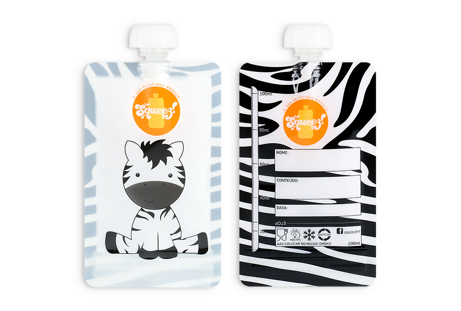 Pack 4  - 100 ml (Leão ou Zebra)