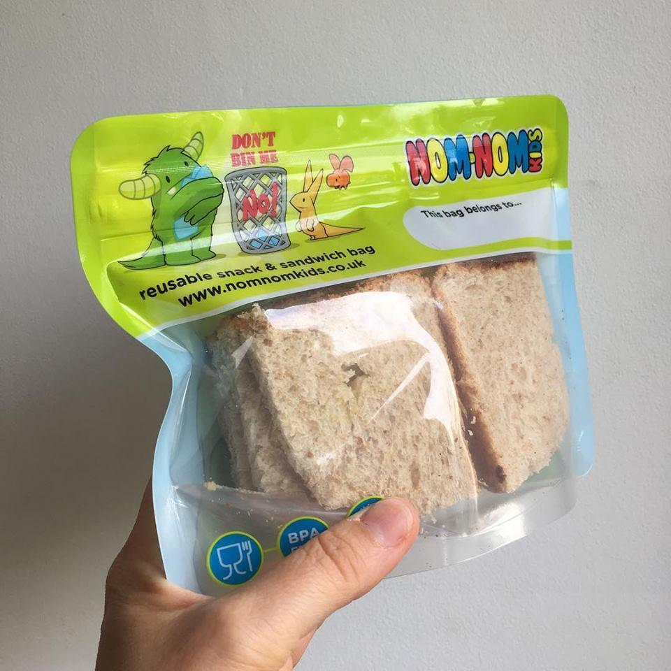 Pacotes Reutilizáveis Nom-Nom para Sandes ou Snacks