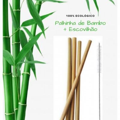 Palhinha de Bambo + Escovilhão