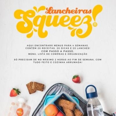 CYBER WEEK -20% 🍏Revista Lancheiras Squeez!