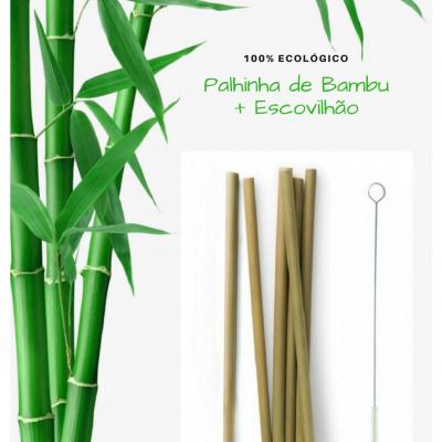 Palhinha de Bambu + Escovilhão