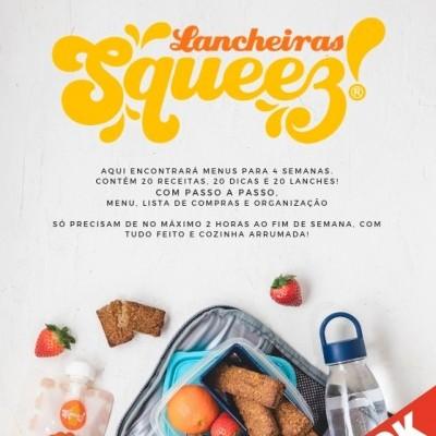 CYBER WEEK -10% 🍎E-book Lancheiras Squeez!