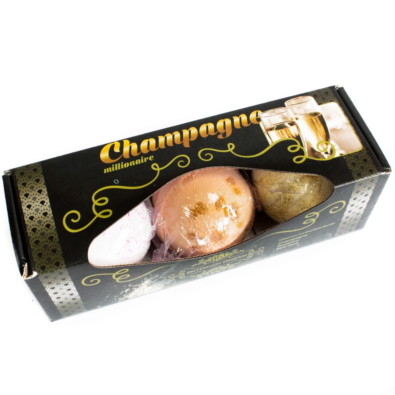 Conjunto 3 Bombas de Banho - Champanhe