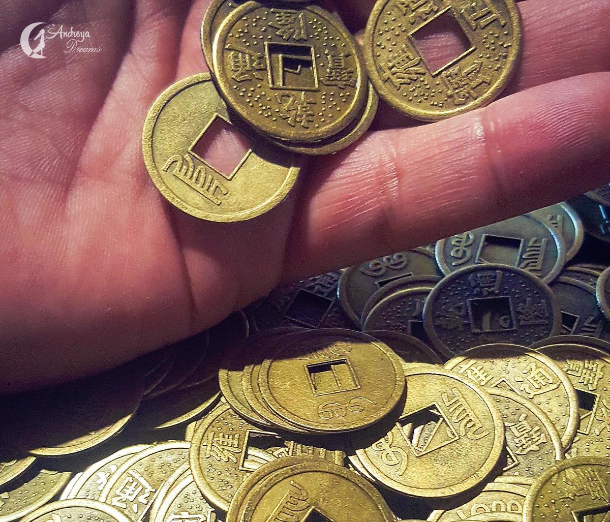 Moeda Feng Shui Prosperidade