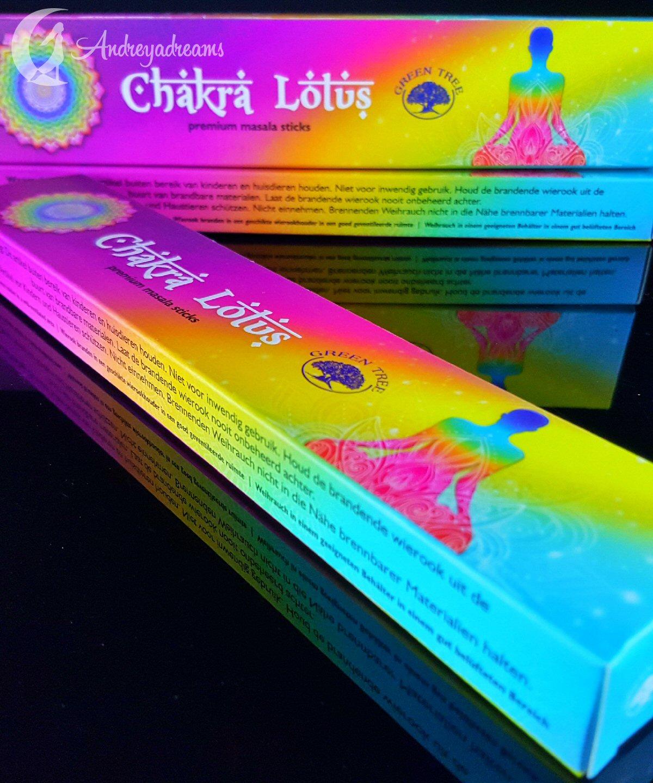 Incenso Chakra Lotus