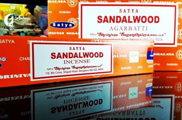Incenso Sandalwood