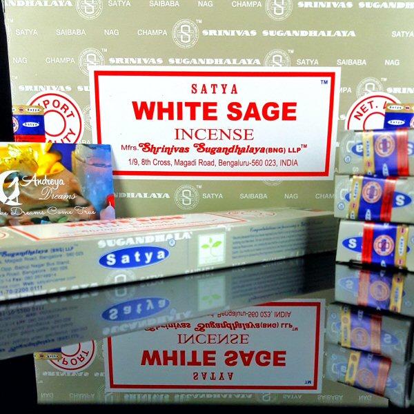 Incenso Sálvia Branca - White Sage