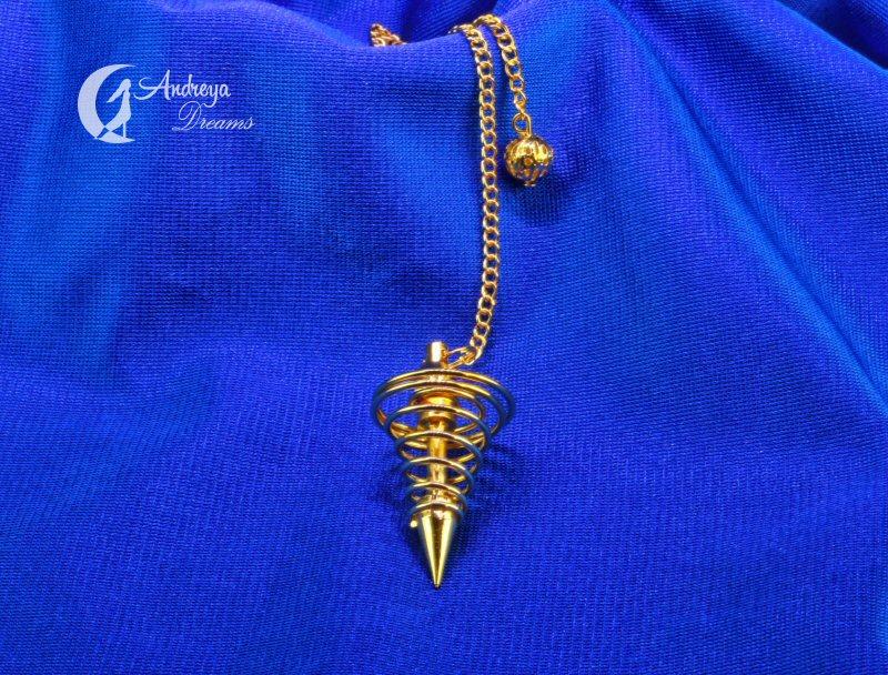Pêndulo Metal em Espiral