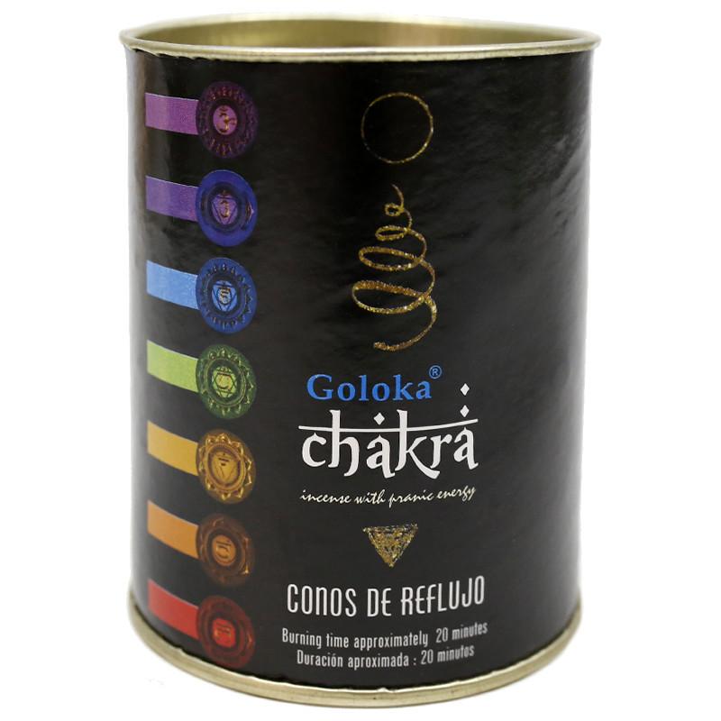 Incenso Refluxo Goloka Chakra