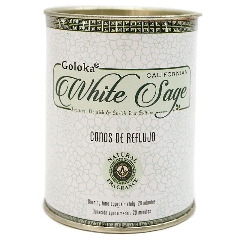 Incenso Refluxo Goloka - Salva Branca