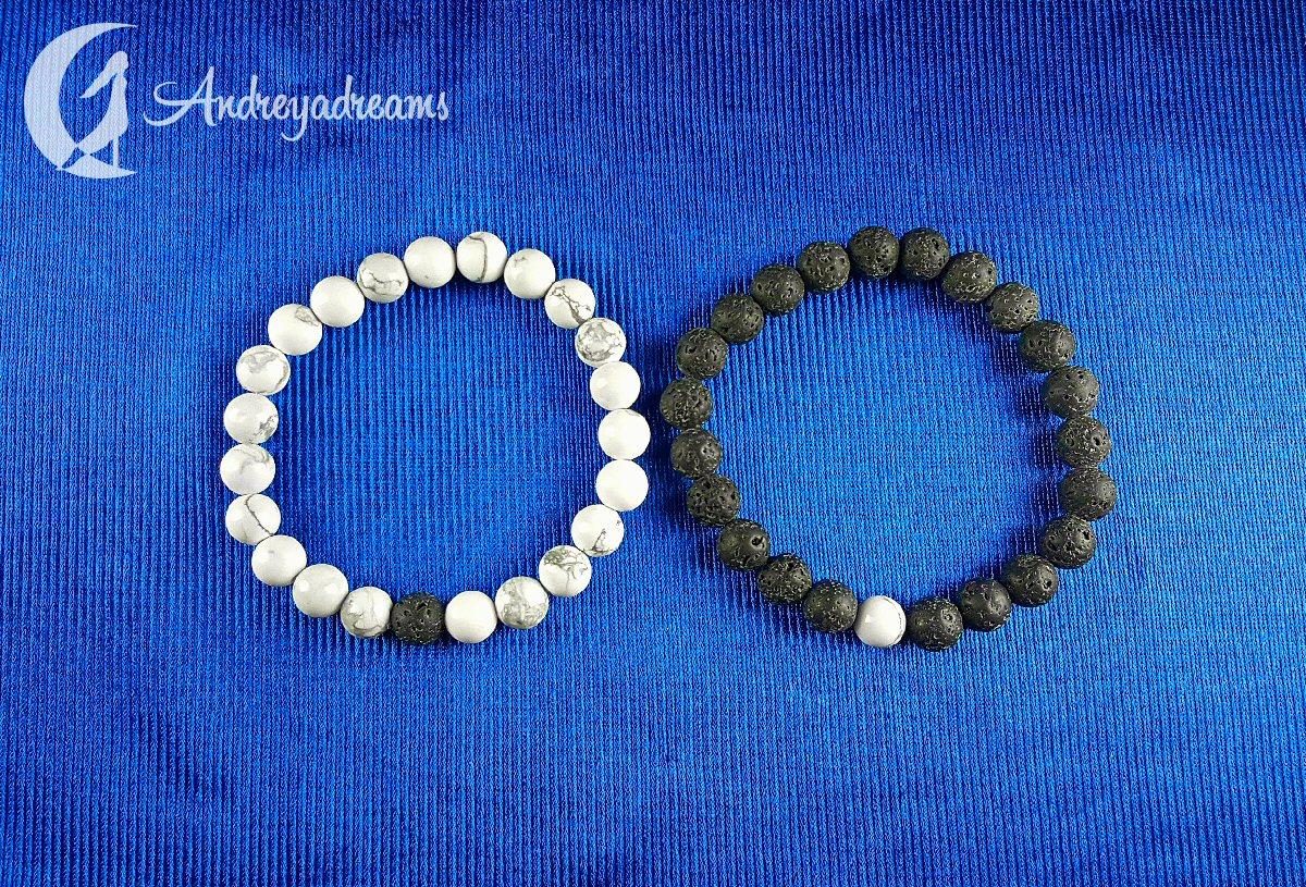 Conjuntos Pulseiras Yin Yang