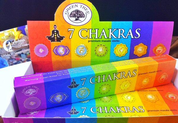 Incenso 7 Chakras