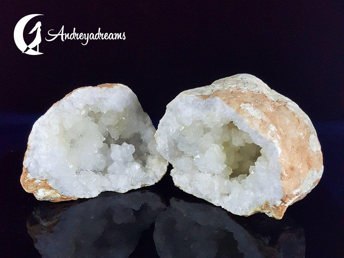 Geode de Quartzo (Duas Metades)