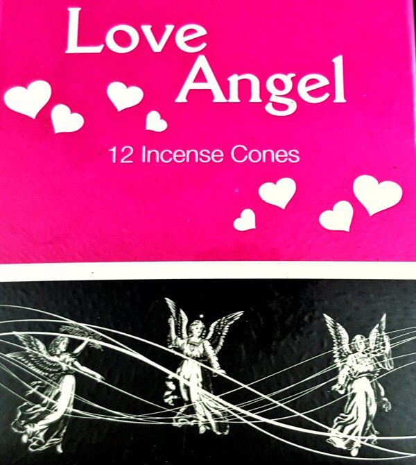 Cones de Incenso Love Angel