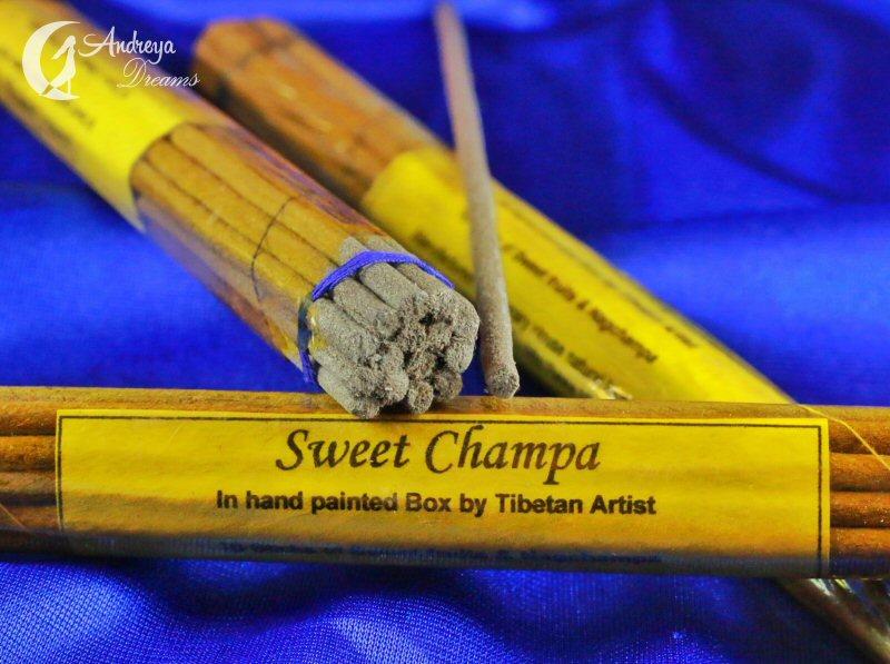 Incenso Tibetano SWEET CHAMPA