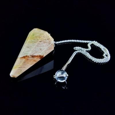 Pêndulo de Pedra Ágata