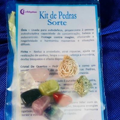 Kit Pedras da Sorte