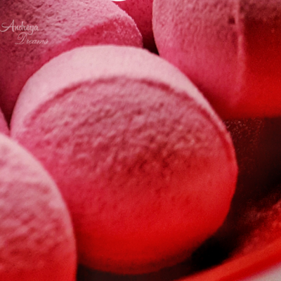 Mini Bombas de Banho - Rosa