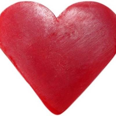 Sabonete Coração de Framboesa