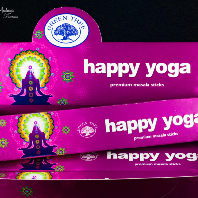 Incenso Happy Yoga - Green Tree