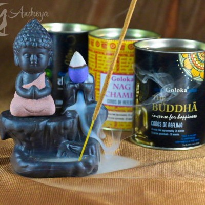 Cascata de Fumo Buda Vermelho