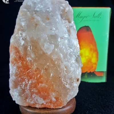 Candeeiro Pedra de Sal dos Himalaias 1,5Kg a 2Kg