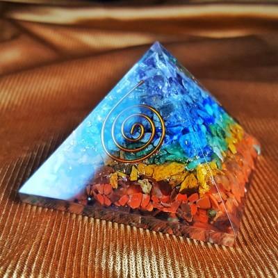 Pirâmide em Orgonite