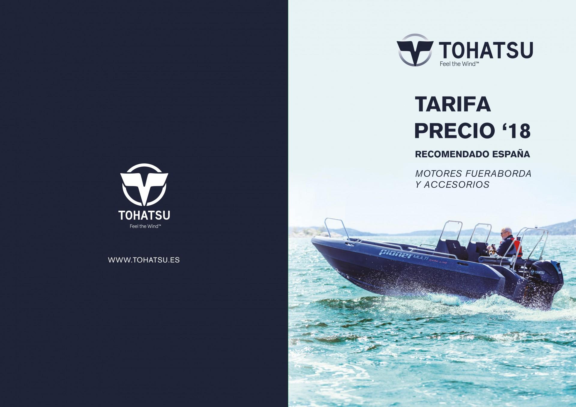 Preçário Tohatsu 2018