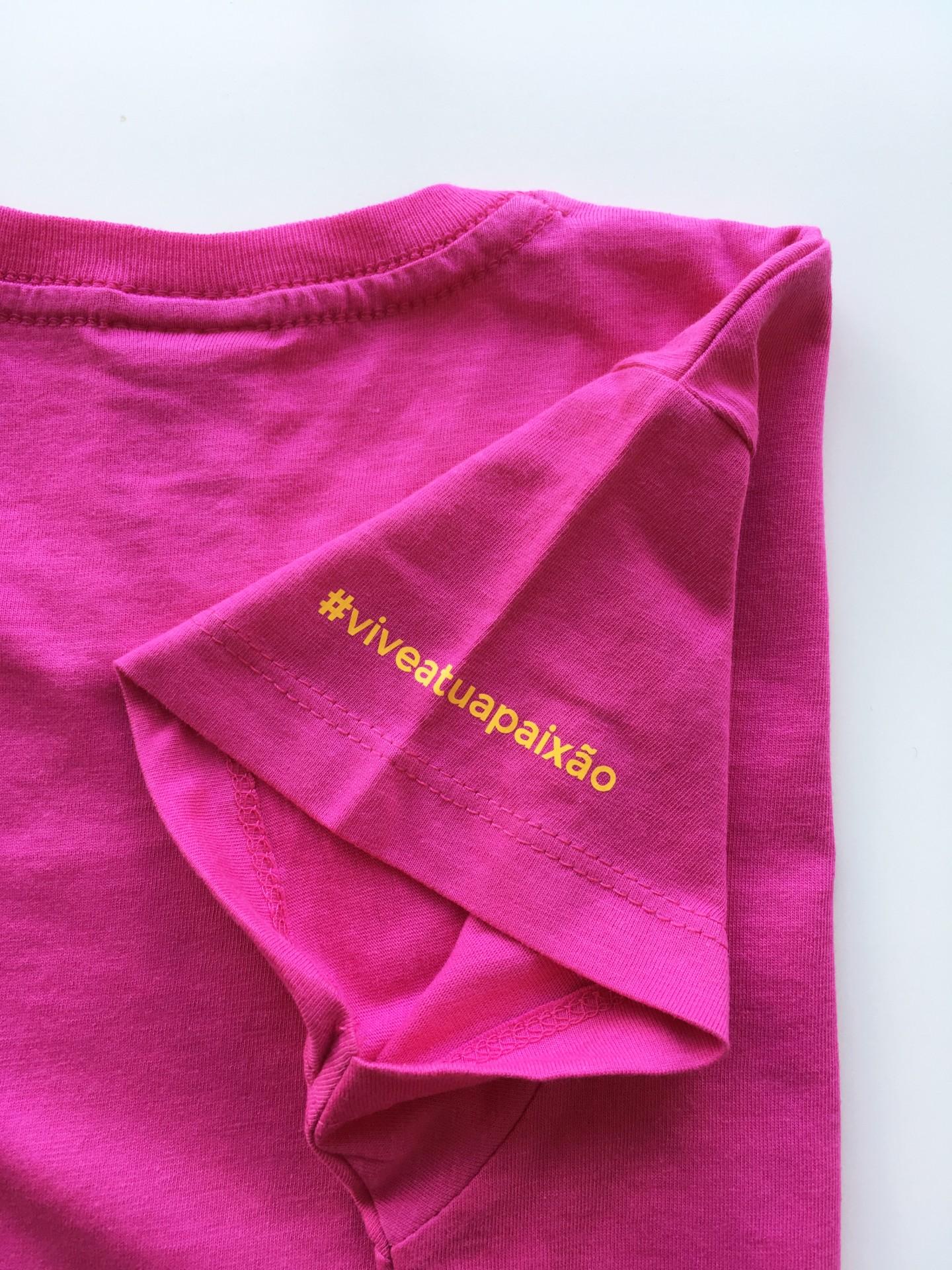 T-Shirt Toiro / Mulher / Rosa