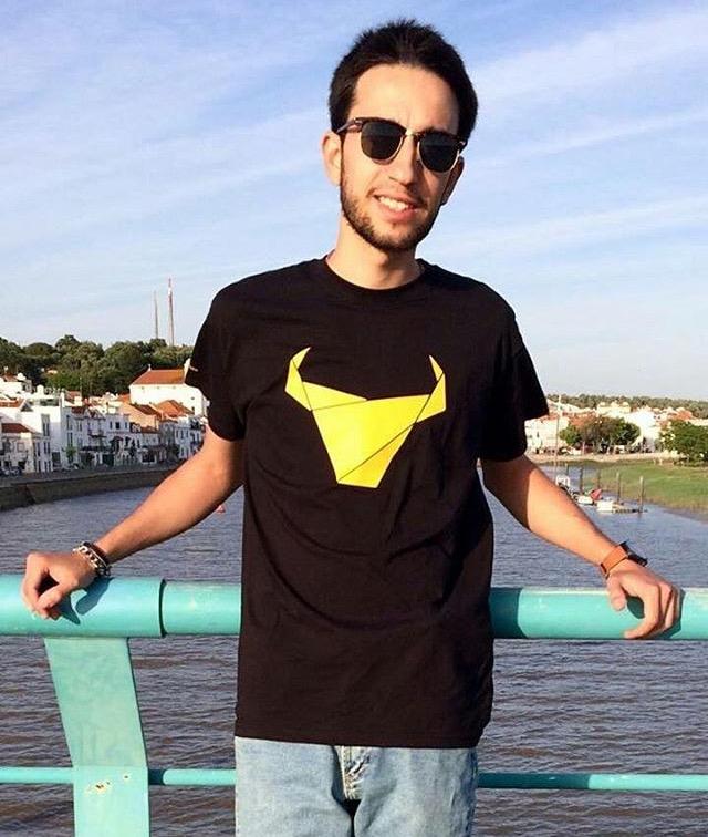 T-Shirt Toiro / Homem / Preto