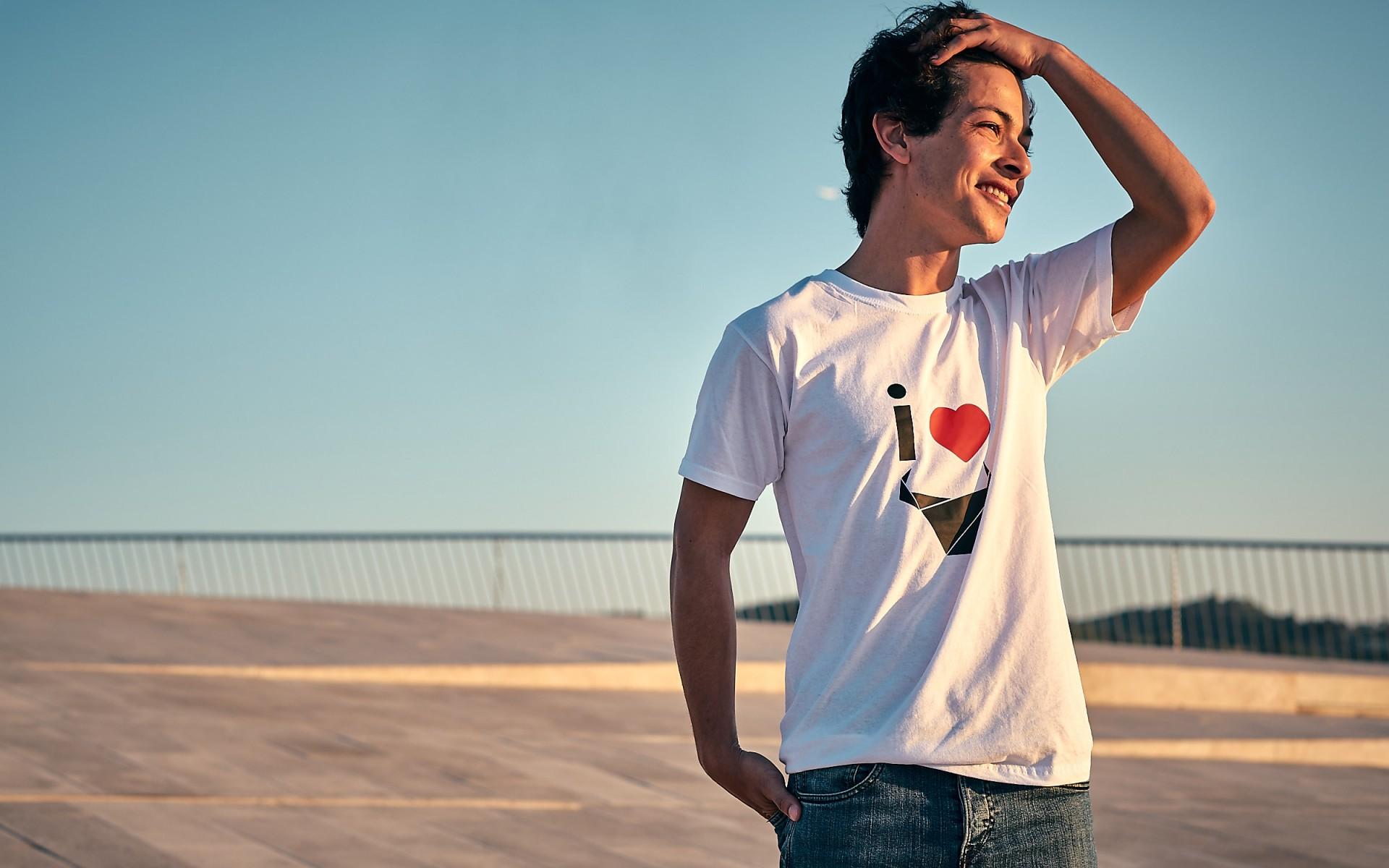T-Shirt I Love / Homem