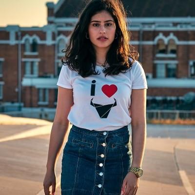 ESGOTADO T-Shirt I Love / Mulher