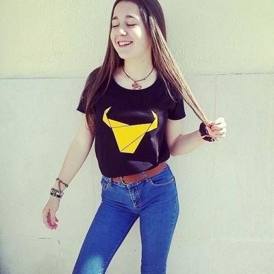 ESGOTADO T-Shirt Toiro / Mulher / Preto