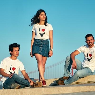 T-Shirt I Love / Mulher