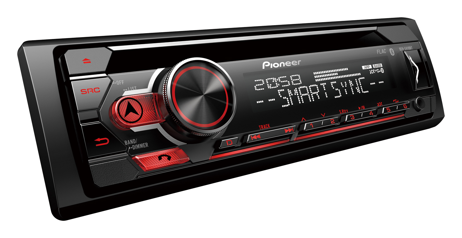 Pioneer DEH-S410BT Autorrádio Bluetooth/CD/USB/Spotify/Android/iOS