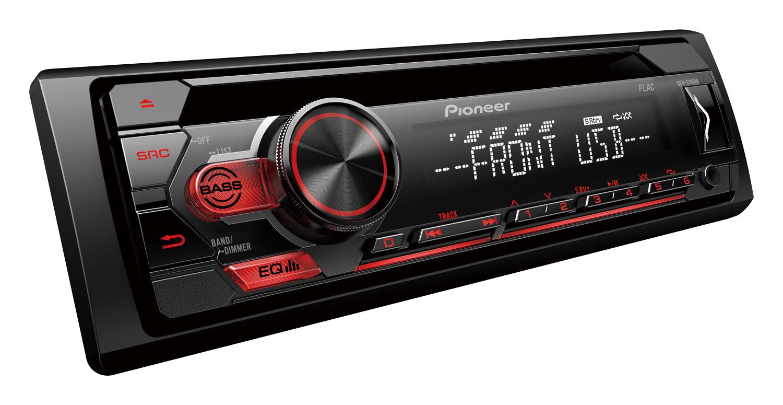 Pioneer DEH-S110UB sintonizador de próxima geração RDS, CD, USB e entrada auxiliar