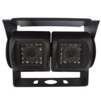 Câmera dupla traseira ideal para pesados e auto-caravanas