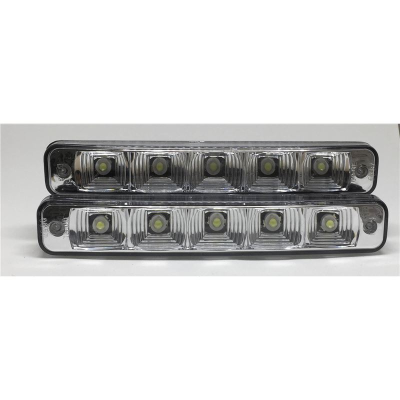LUZES DIURNAS 5 LED'S ALTA INTENSIDADE 5W DRL10