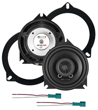 QM-100XBMW MBQUART Sistema de 2 vias coaxiais de 10cm especifico para BMW