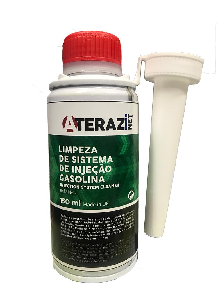 Limpeza Sistema Injecção Gasolina 150ml ATERAZINET NET3