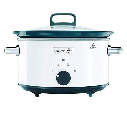 Crock-Pot CSC030X Panela de Cozedura Lenta 3.5L Branca