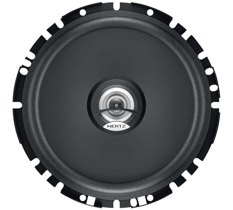 Kit Colunas HERTZ DIECI Coaxial 2 Vias 16,5mm 100W DCX170