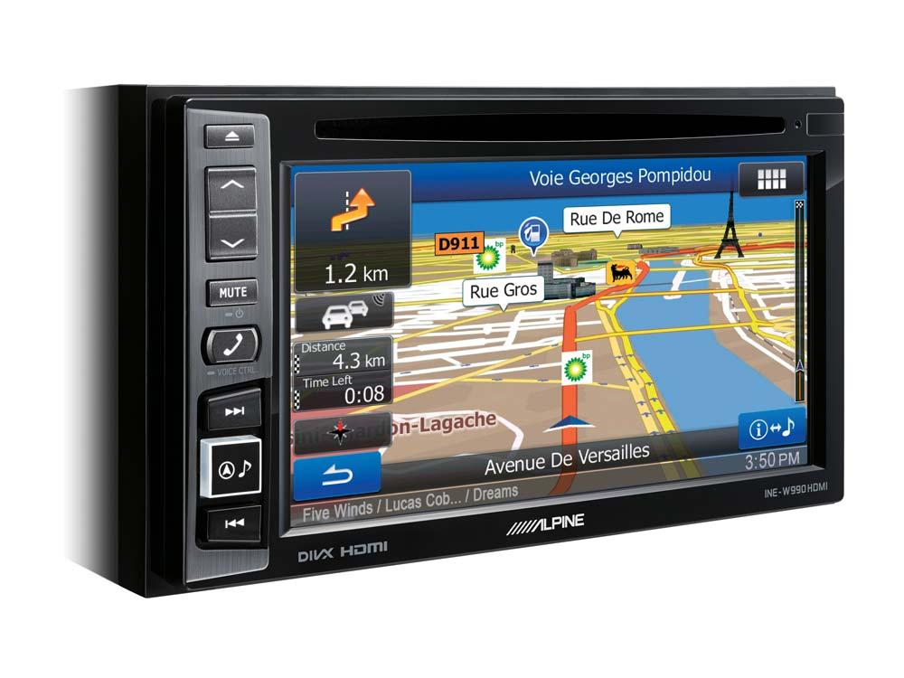 INE-W990HDMI ALPINE Sistema de Navegação Multimedia com Display da 6.1