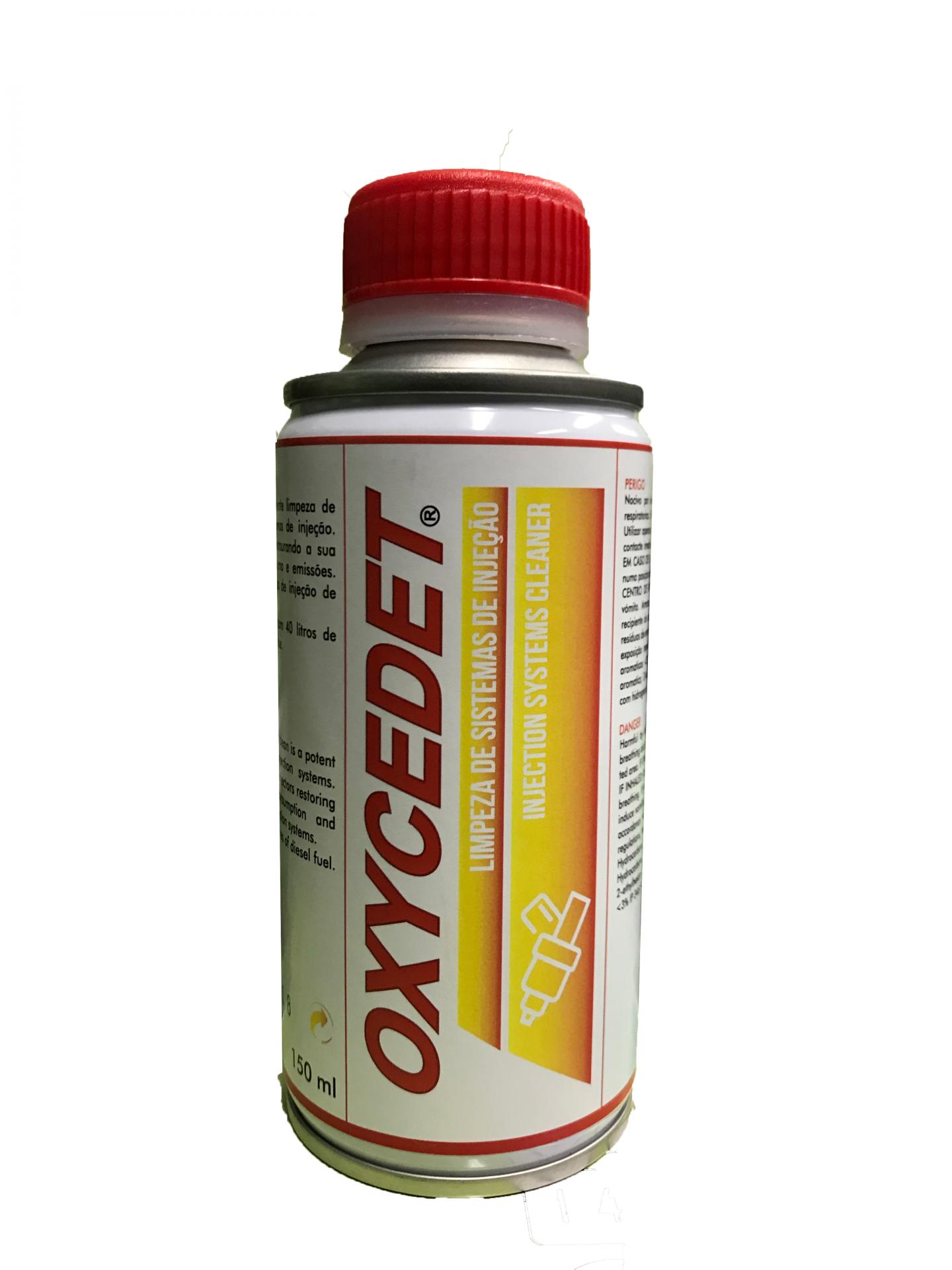 Limpeza de Sistemas de Injecção Oxycedet 150ml OLSI (aditivo para juntar ao gasóleo)