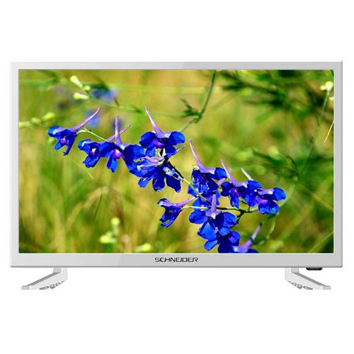 Tv Led 23,6'' Schneider, HD , USB , Rainbow, Dvb-t , 1 hdmi + scart + VGA + a/v input , 89º