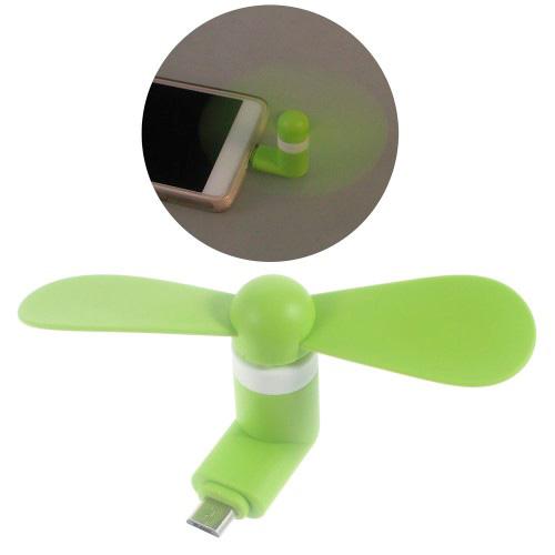 Mini ventilador p/smartphone OTG