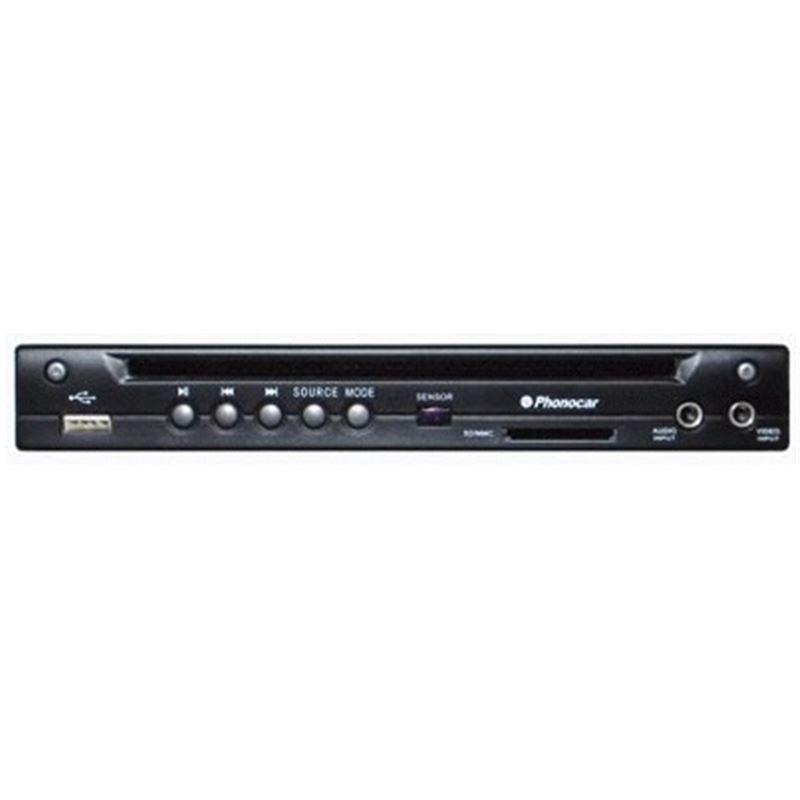 Leitor Phonocar DVD 1/2 Din USB SD IR VM015