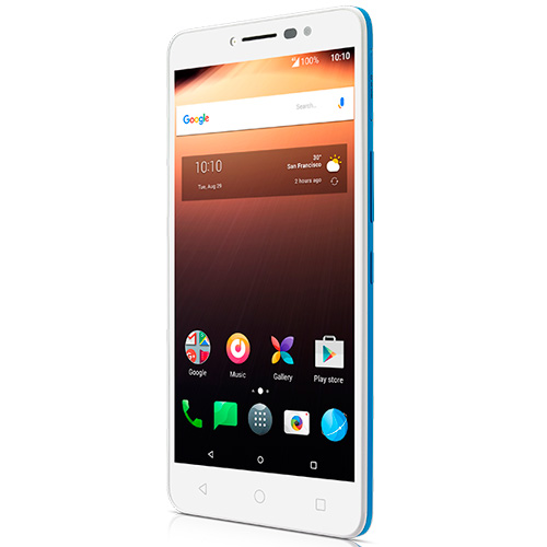 Alcatel A3 XL 9008D 4G Livre Branco/ Azul ALC20A3XLLBAZ